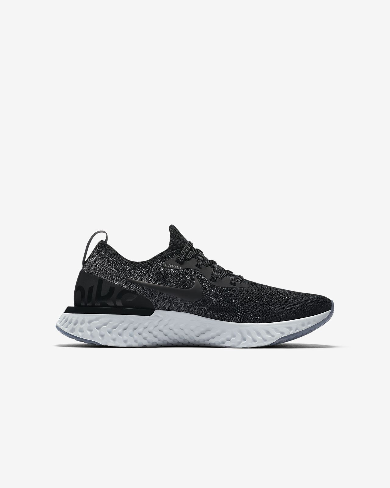 b9ea46ababcb Nike PerformanceEPIC REACT FLYKNIT - Neutral running shoes - wolf grey white
