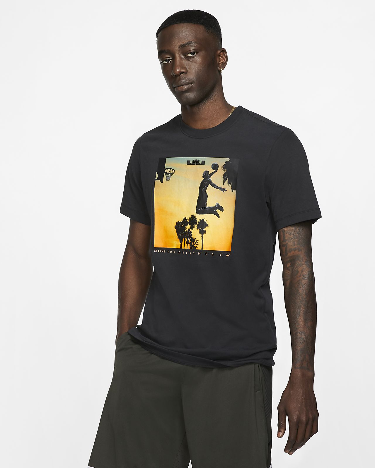 tee shirt nike dry fit homme