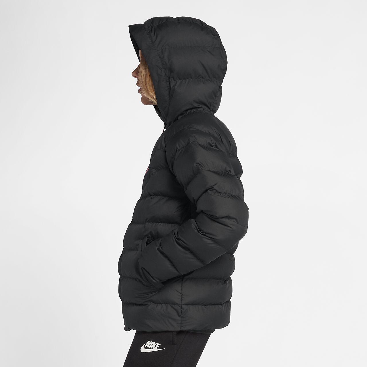 nike coat with hood