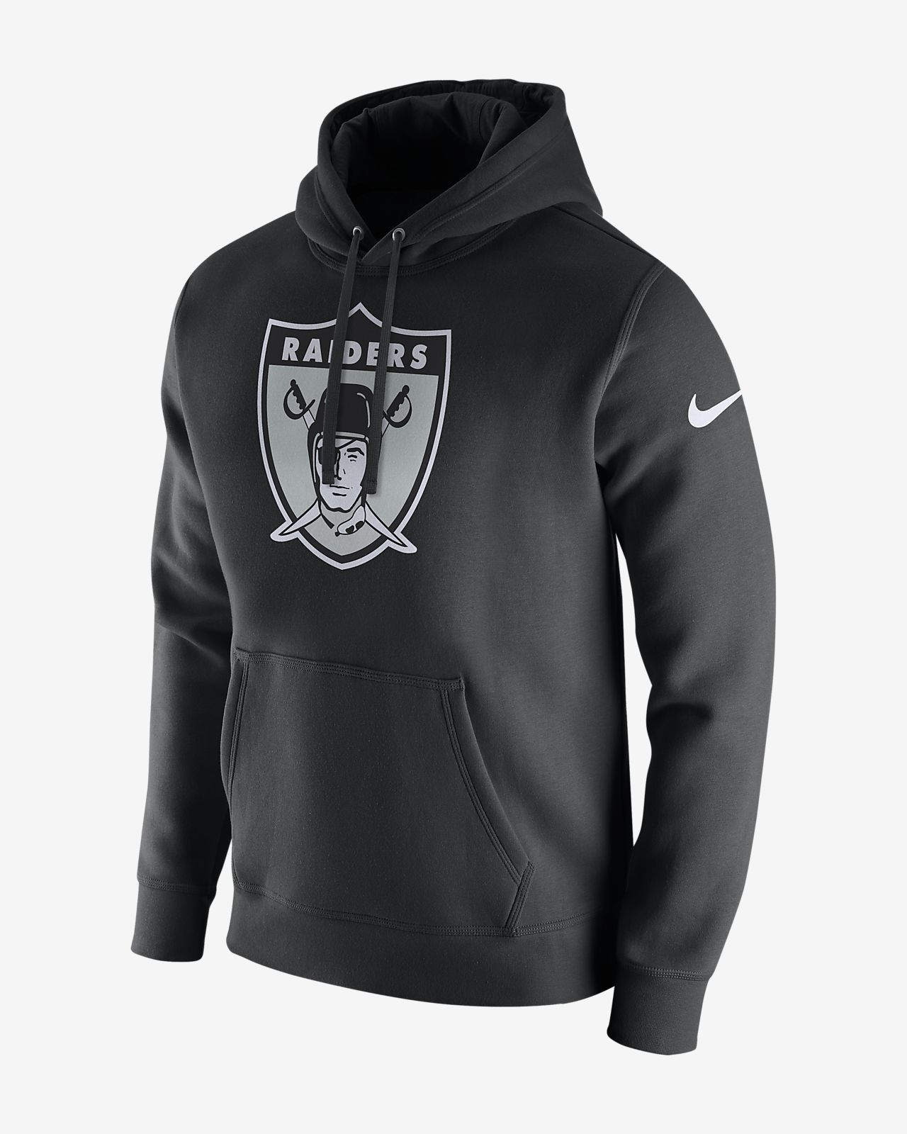 965578e564a4 Nike Club (NFL Raiders) Men s Fleece Pullover Hoodie. Nike.com