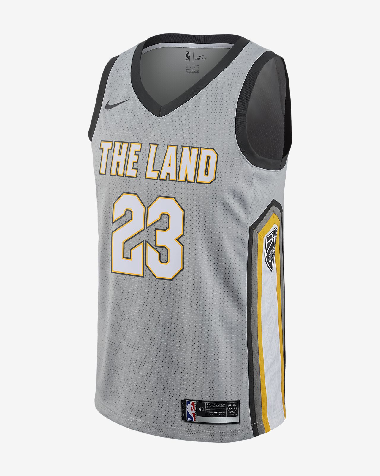 LeBron James City Edition Swingman Jersey (Cleveland Cavaliers) Mens Nike  NBA Connected Jersey