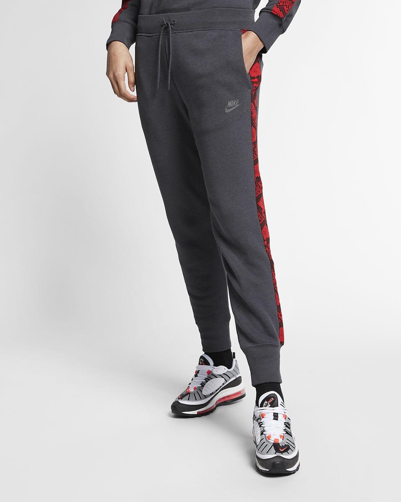 Calças com estampado animal Nike Sportswear para mulher