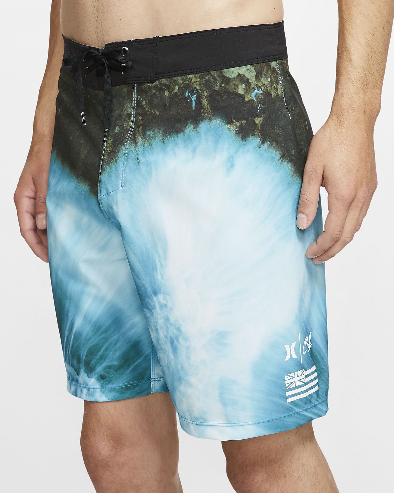 Hurley Clark Little Phantom Drone Boardshort de 46 cm - Home