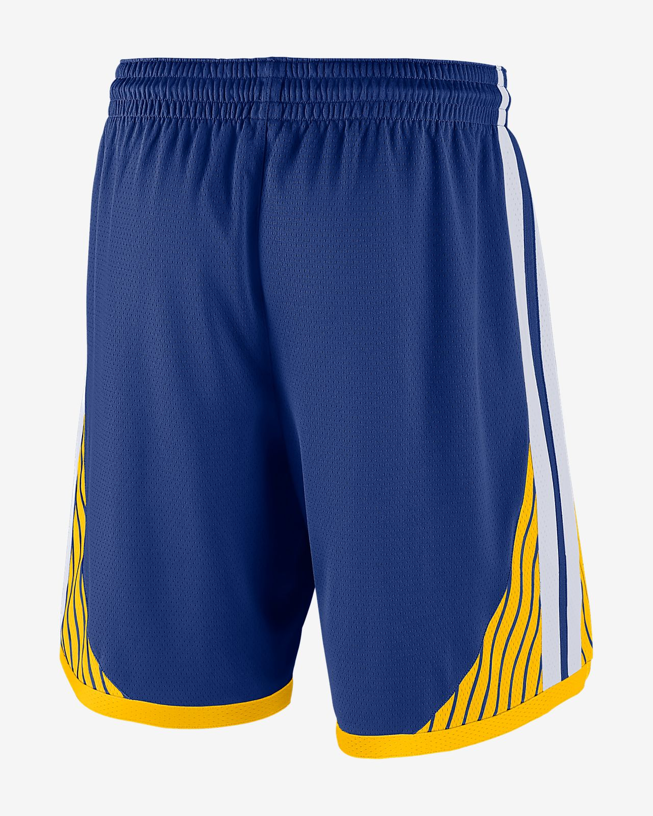 newest 553e8 f486a ... Golden State Warriors Icon Edition Swingman Men s Nike NBA Shorts