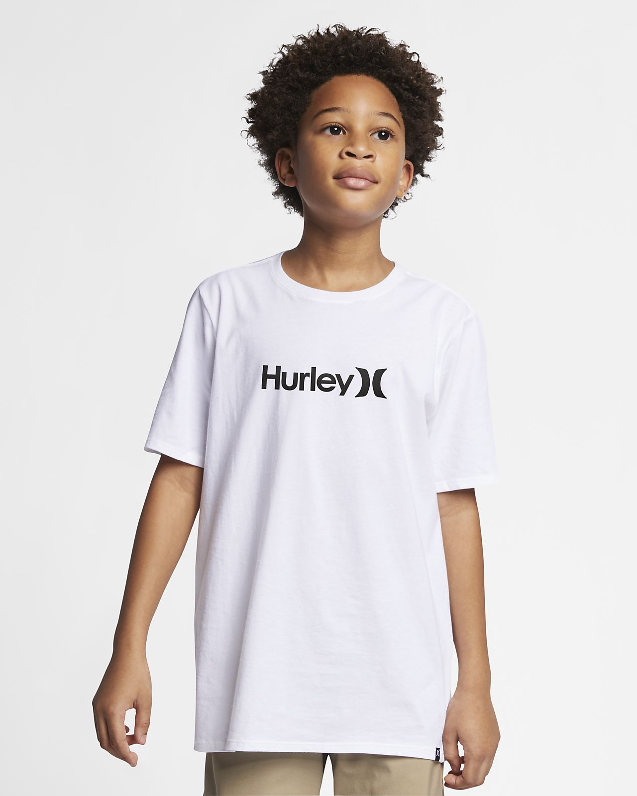Hurley Premium One And Only Solid T-skjorte til gutt