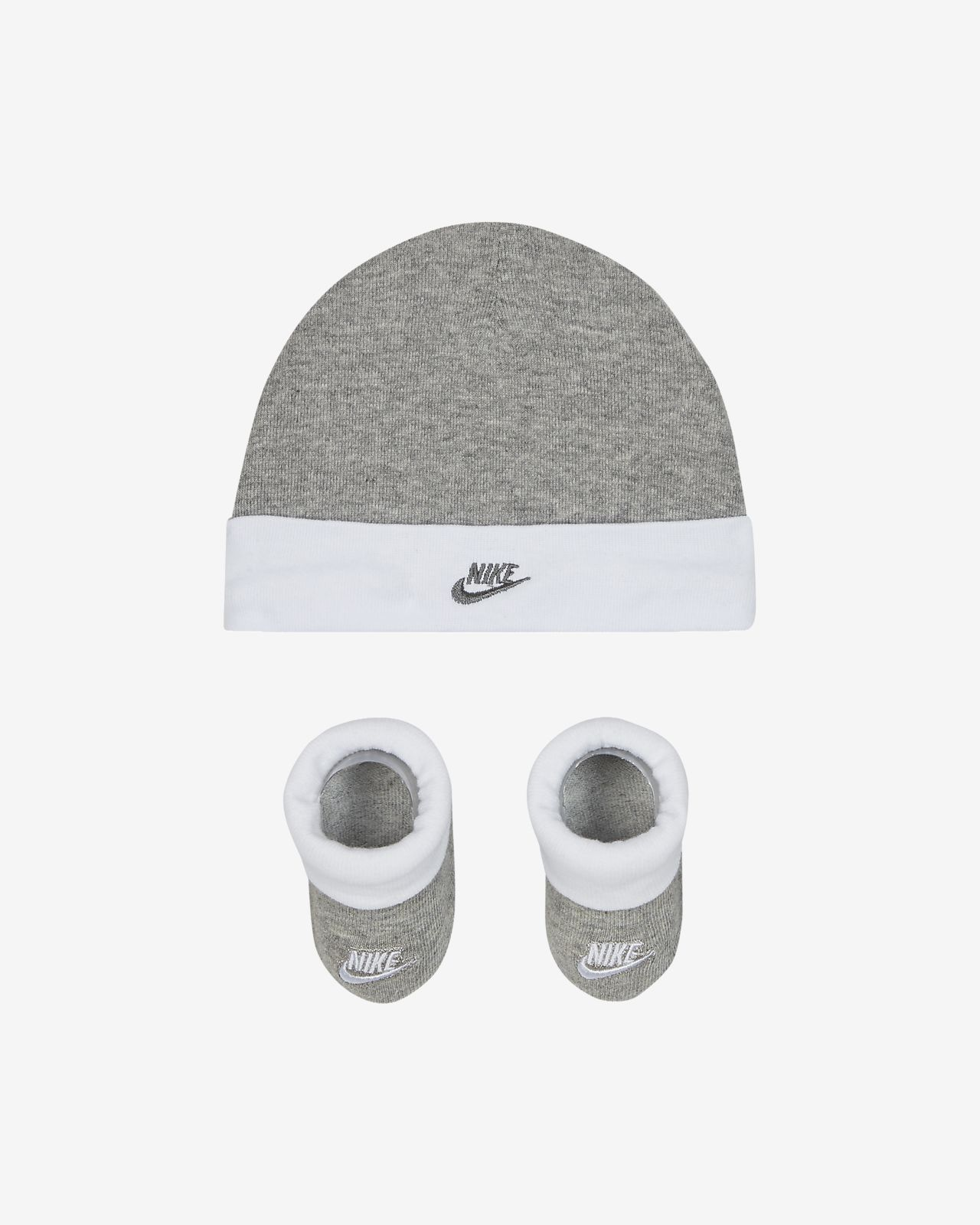 Nike Sportswear Baby Hat and Booties Set