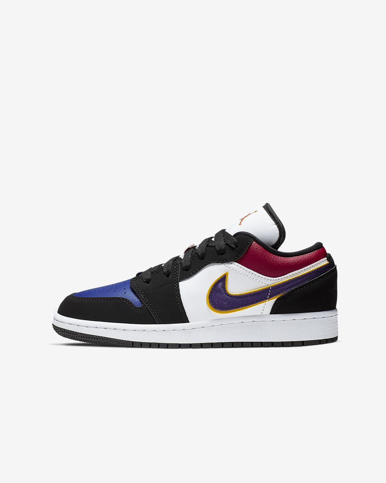 quality design 1f5af 14fdf Air Jordan 1 Low Big Kids' Shoe