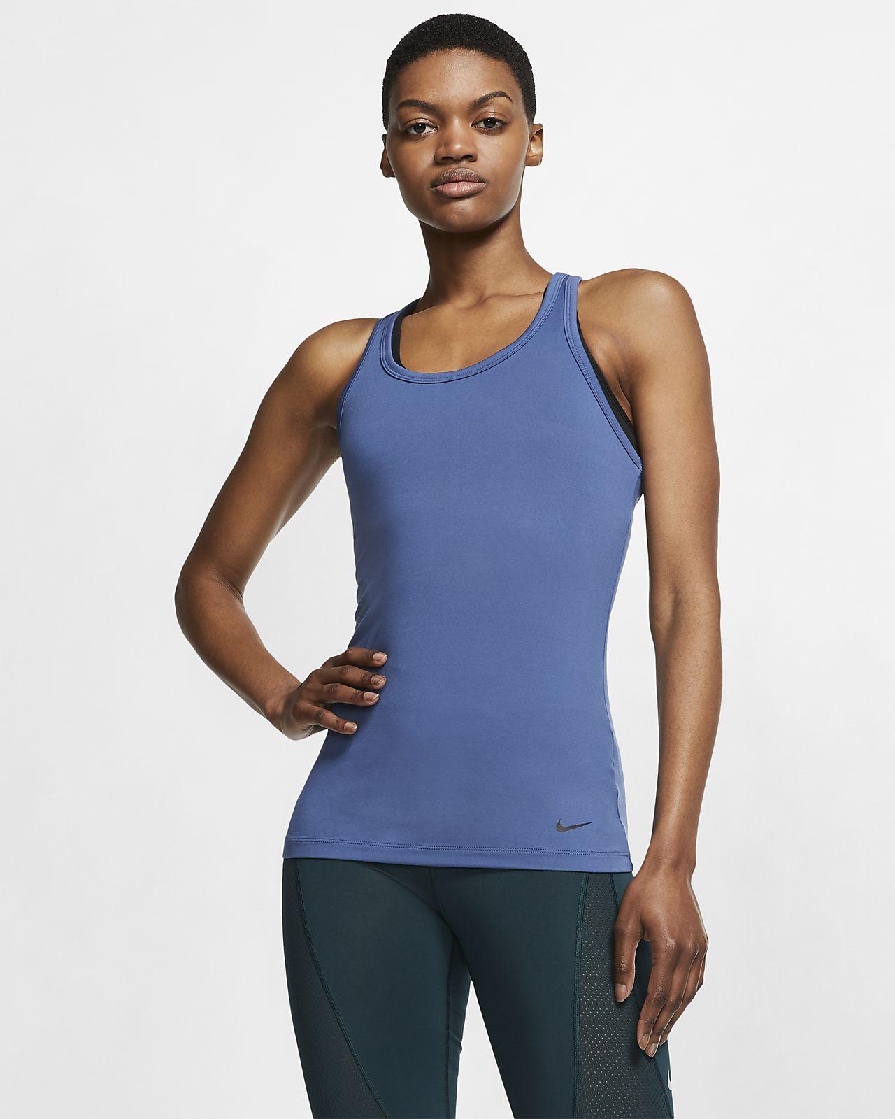 Nike Get Fit-yogatræningstanktop til kvinder