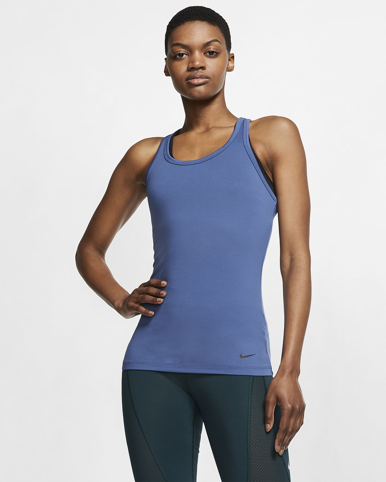 Nike Get Fit Yogatrainingstanktop voor dames