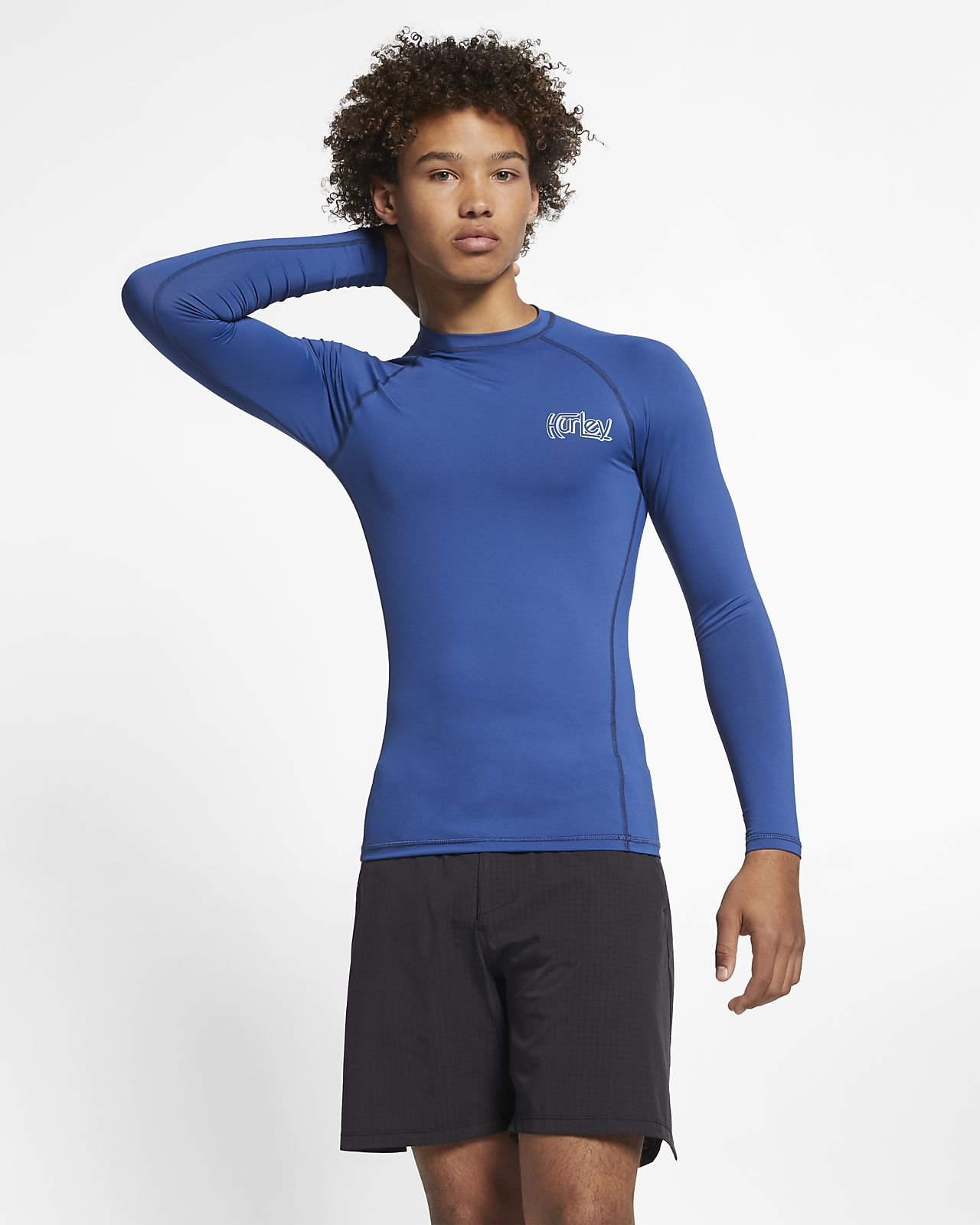 d52583372460 Ανδρική μακρυμάνικη μπλούζα Hurley Pro Light OG. Nike.com GR
