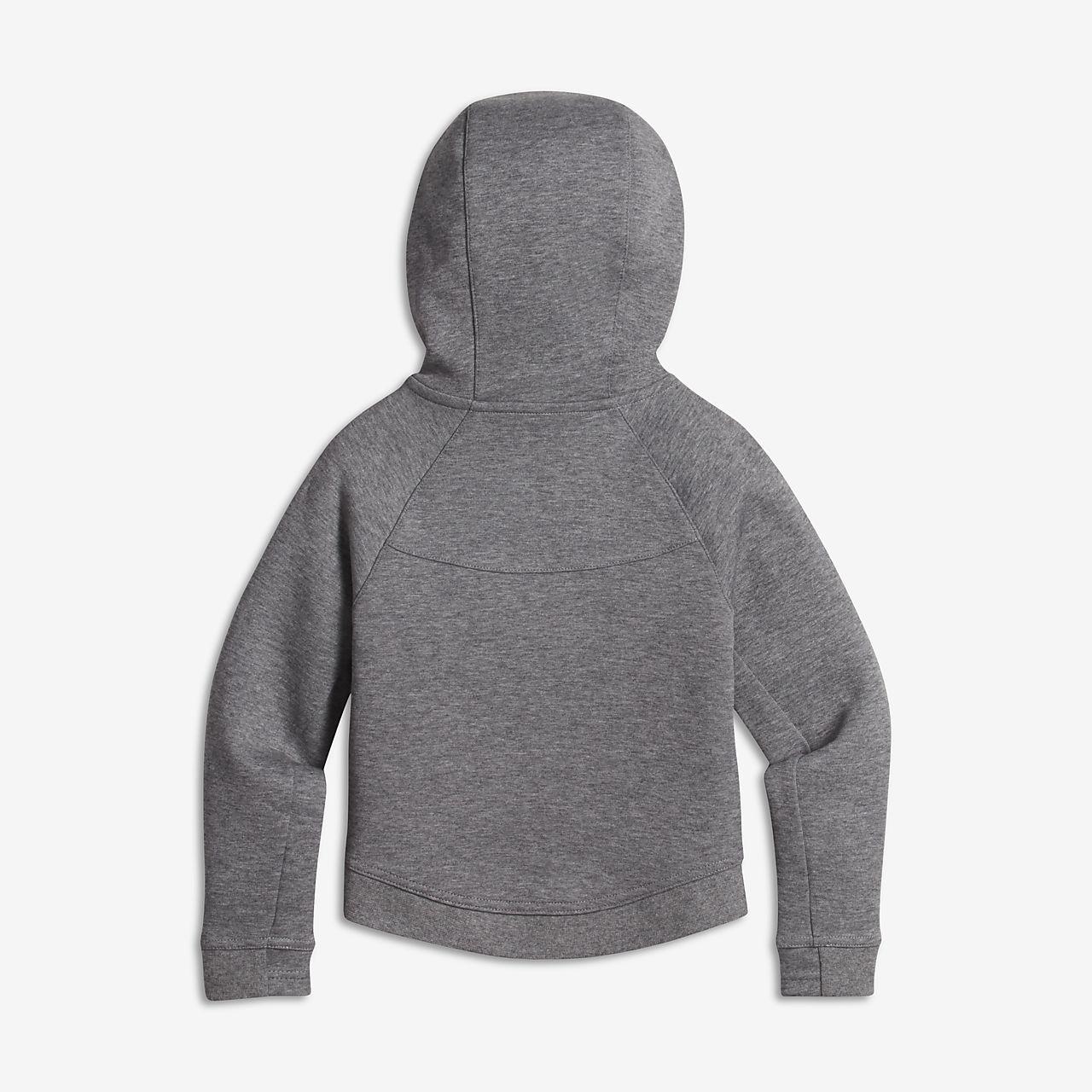e82f76a0366d Sweat à capuche Nike Sportswear Tech Fleece pour Jeune fille. Nike ...