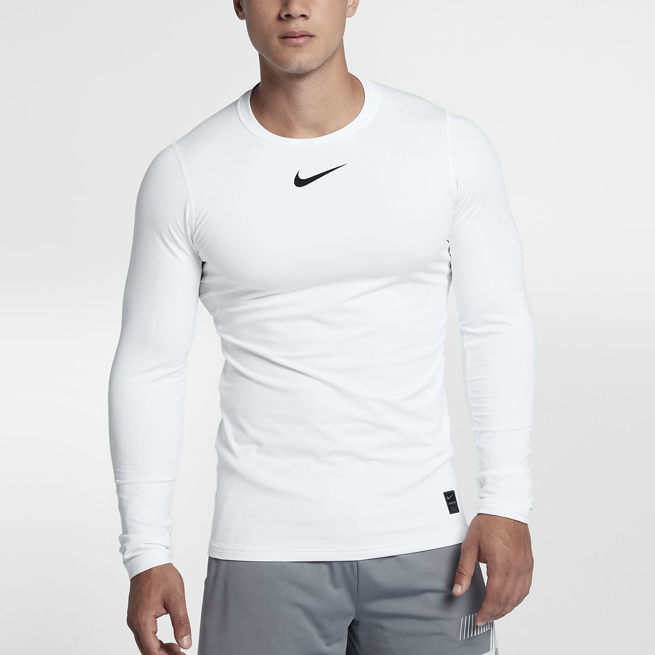 ... Nike Pro Warm Men's Long Sleeve Training Top