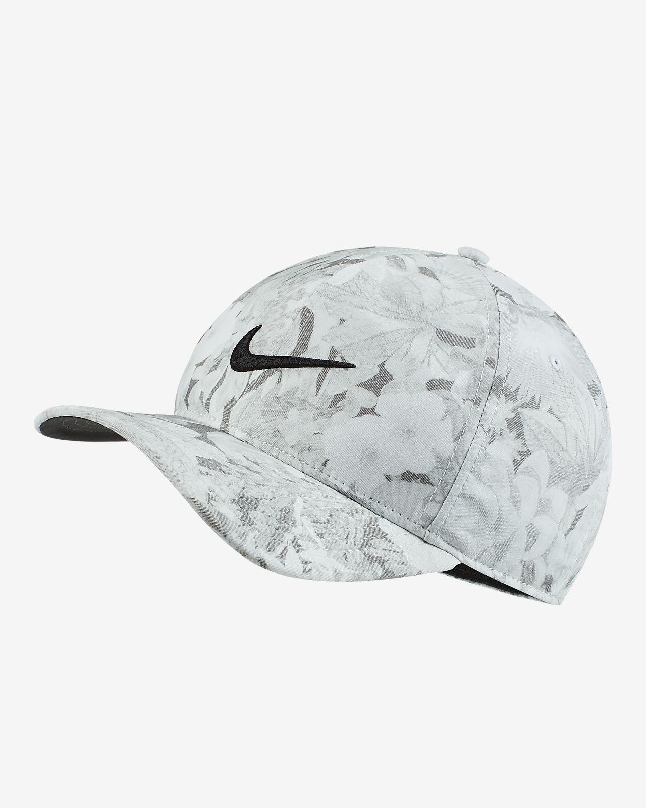 471ac58a2 Nike AeroBill Classic99 Printed Golf Hat