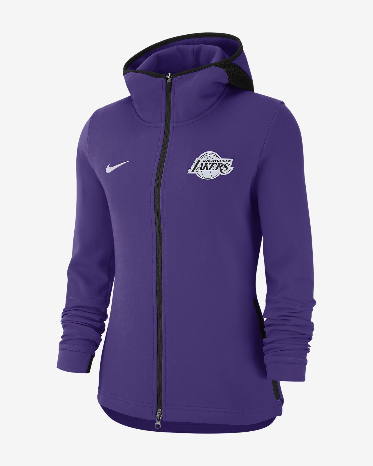 fafc7484a8a5 Los Angeles Lakers Nike Dri-FIT Showtime Women s NBA Hoodie. Nike.com