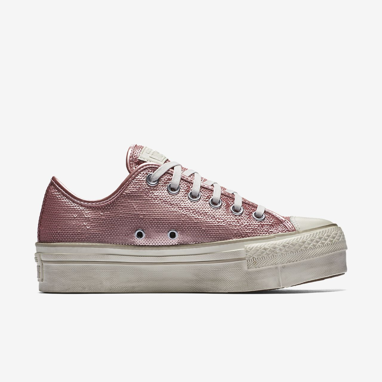 Easy To Take Converse All Star Glitter Pink Top Deals