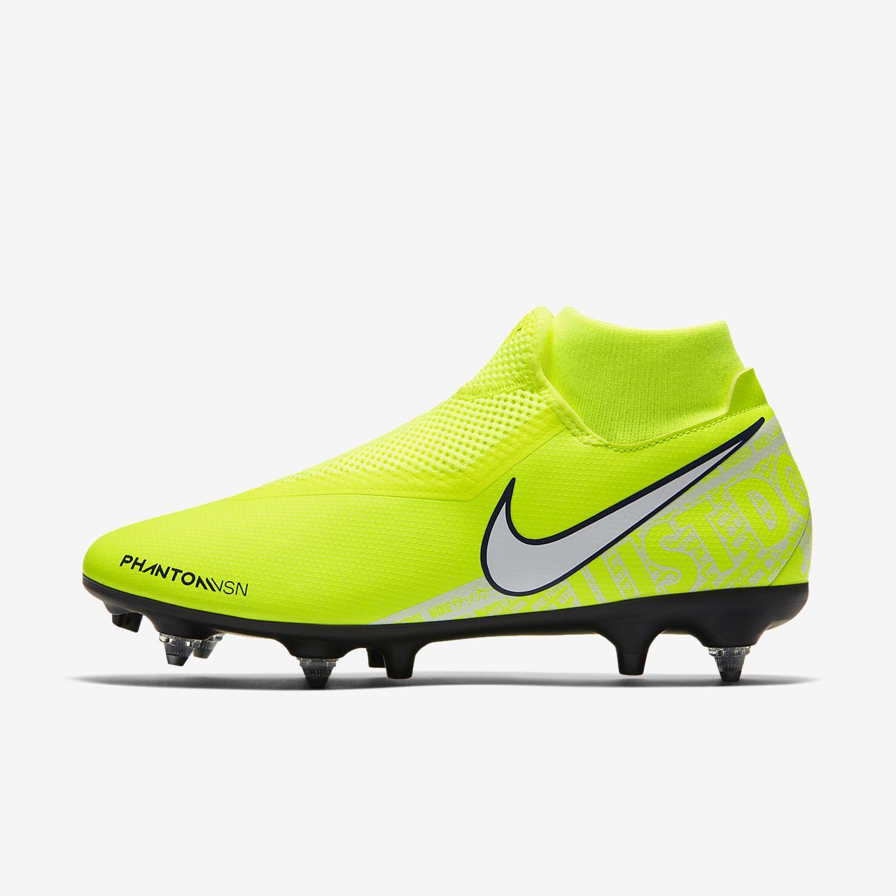 Nike PhantomVSN Academy Dynamic Fit SG-Pro Anti-Clog Traction-fodboldstøvle til vådt græs