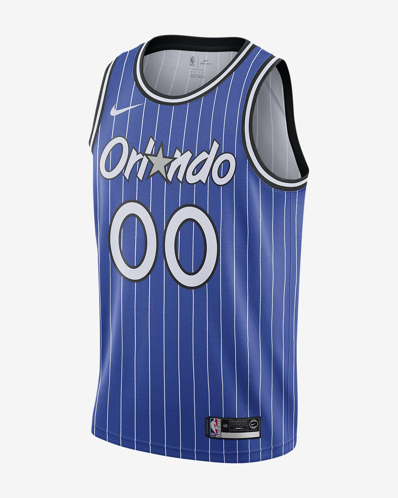 奥兰多魔术队 (Aaron Gordon) Classic Edition Swingman Nike NBA Connected Jersey 男子球衣