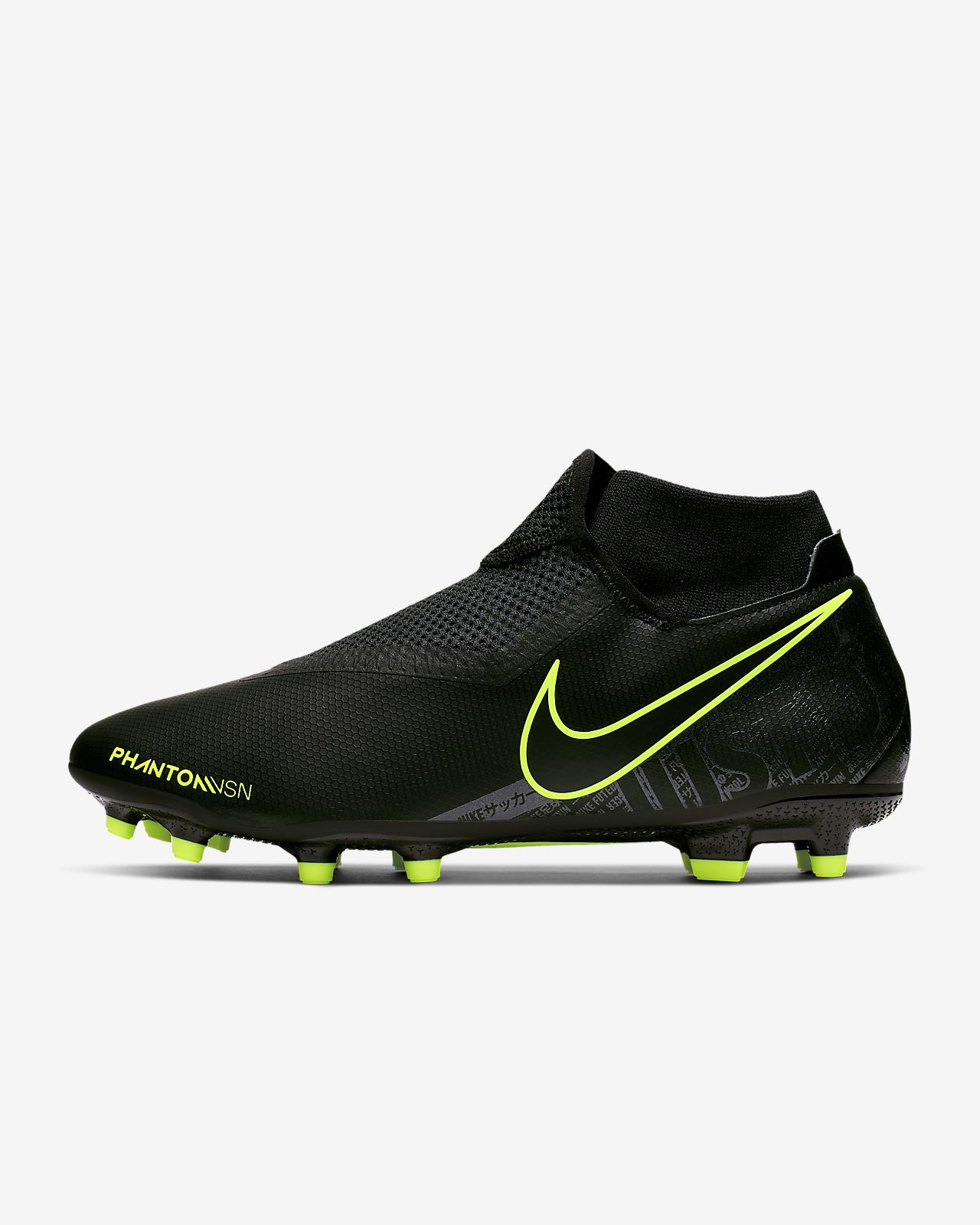 Chaussure de football à crampons multi-surfaces Nike Phantom Vision Academy Dynamic Fit MG