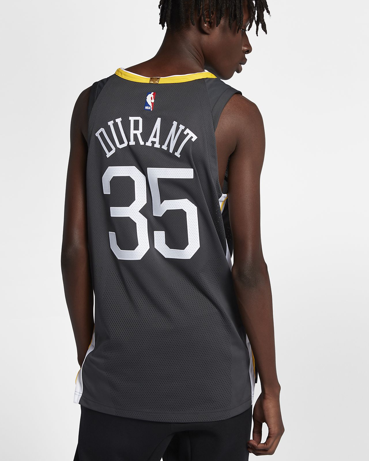 official photos 493b5 824c5 Kevin Durant Statement Edition Authentic (Golden State Warriors) Men's Nike  NBA Connected Jersey