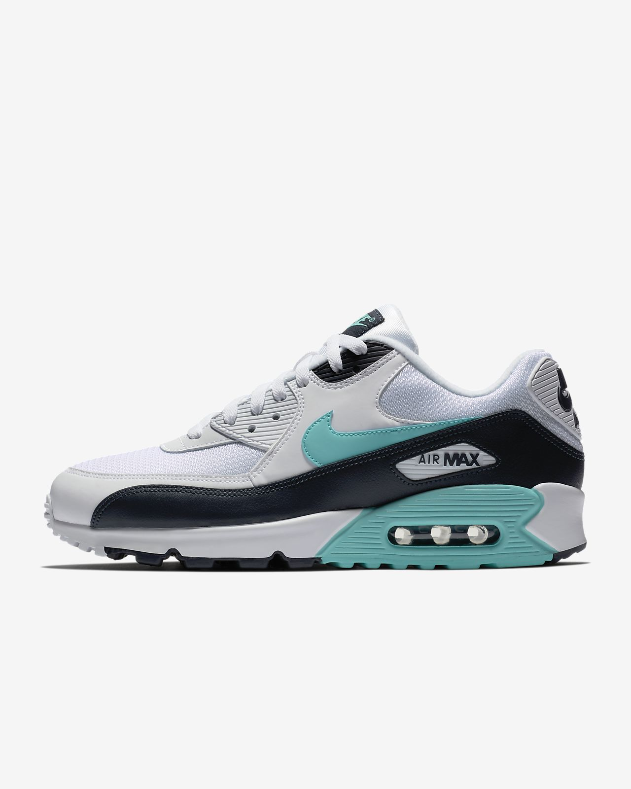 nike air max 90 essential black and white mens
