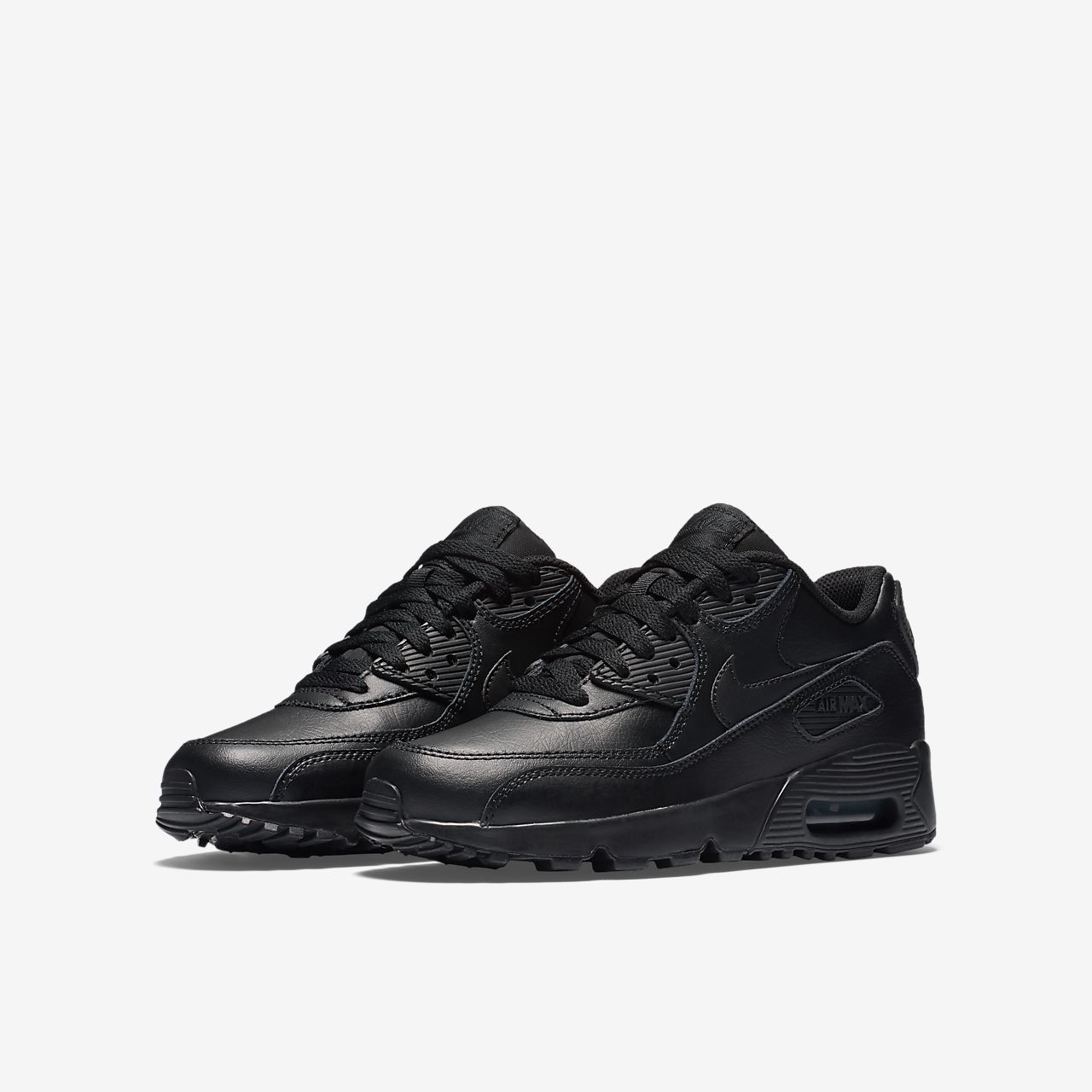 Nike Air Max 90 Leather Big Kids Shoe