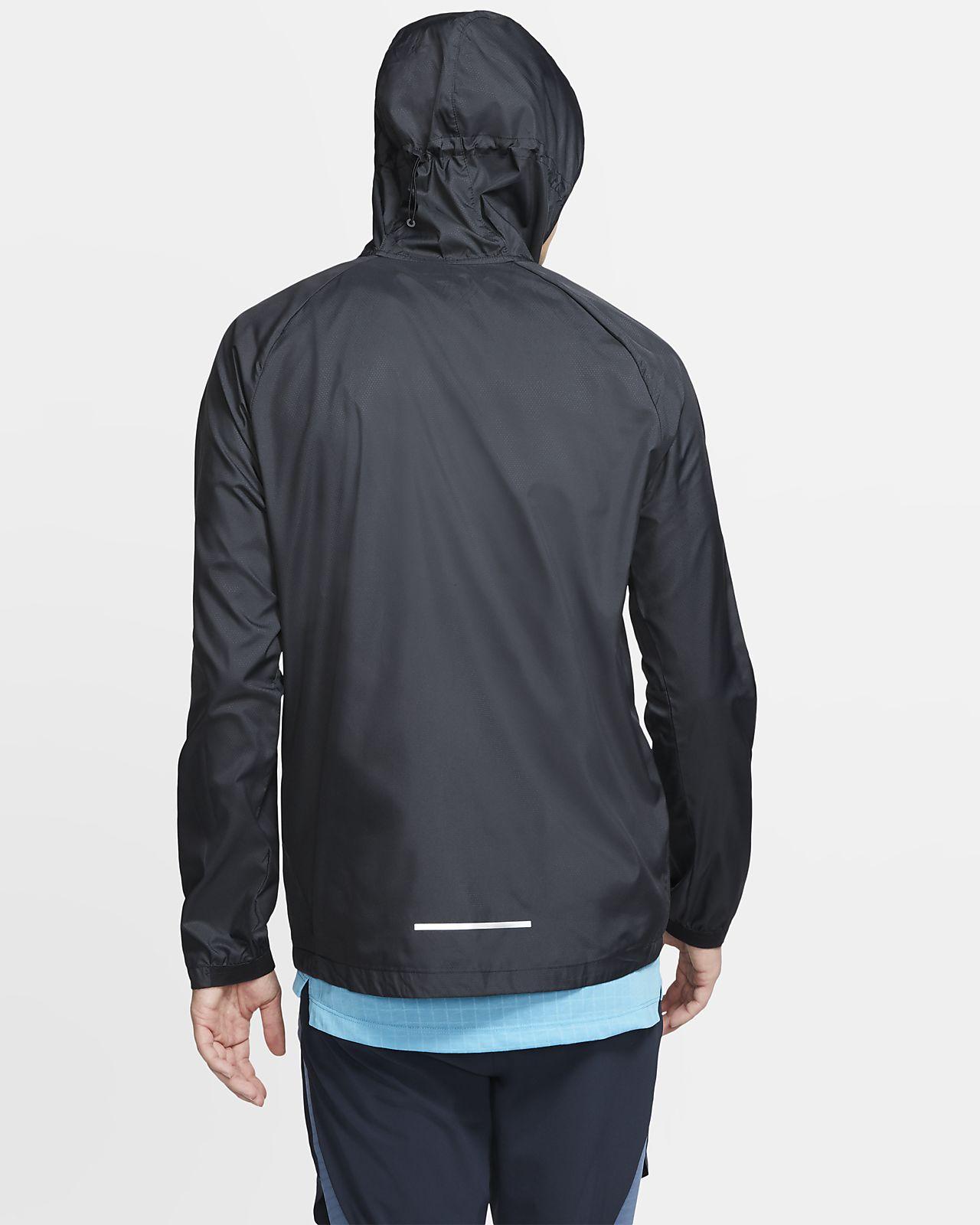 Męska kurtka z kapturem do biegania Nike Essential
