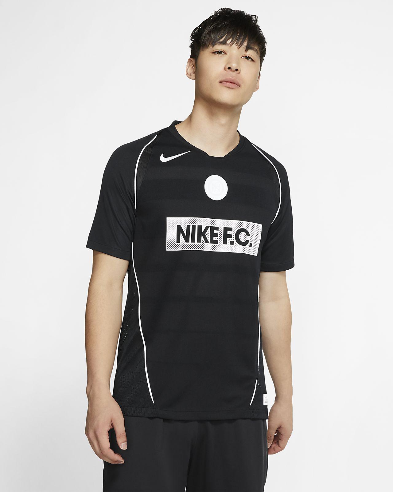 Męska koszulka piłkarska z krótkim rękawem Nike F.C. Home