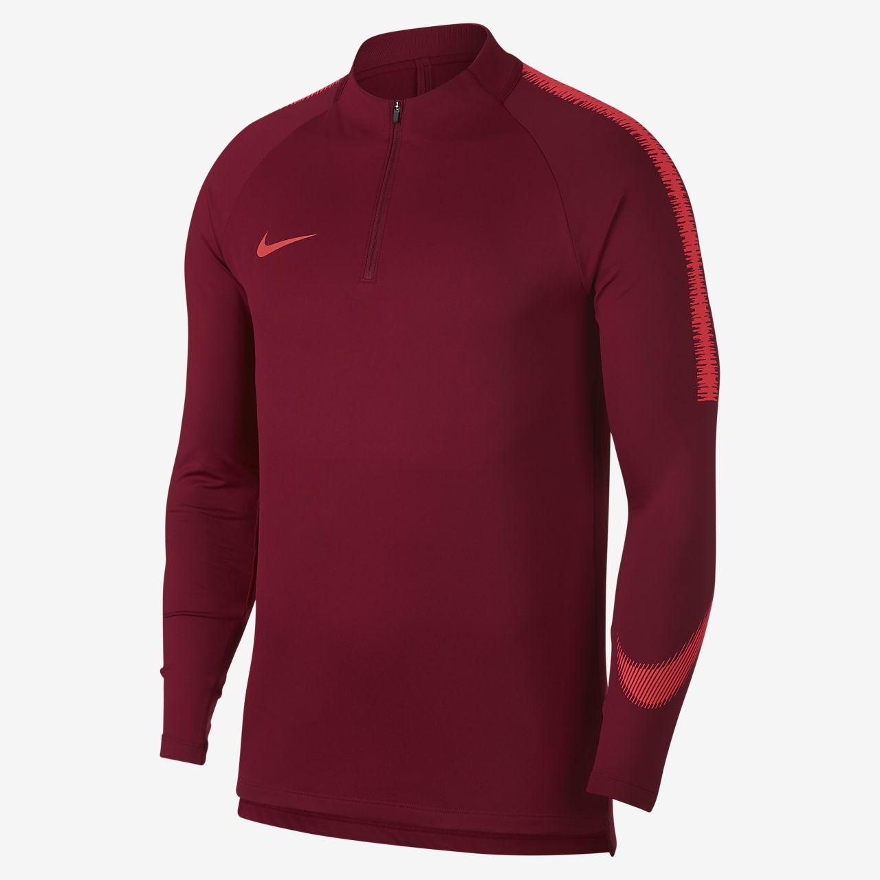 653613bea91bd Nike Dri Fit Squad Drill Langarm Fussballoberteil Fur Herren Nike Com Ch