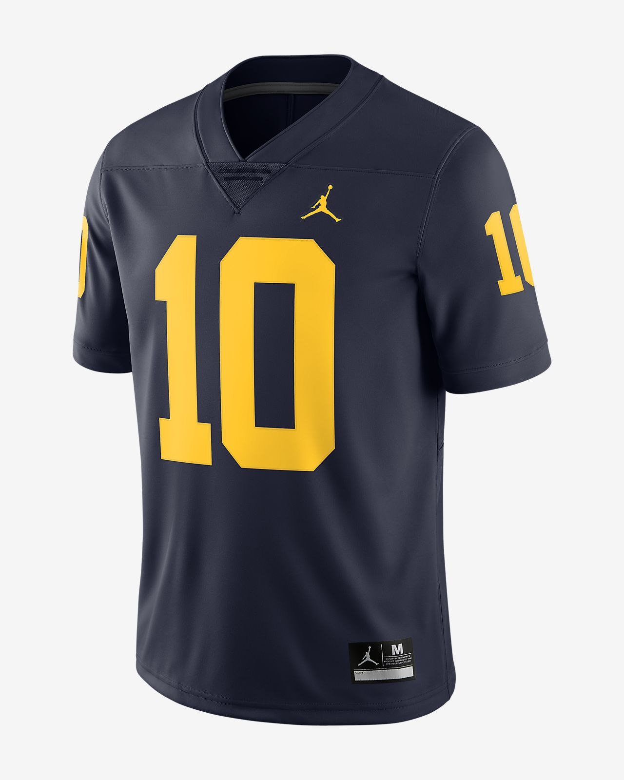 Jordan College Limited Jersey (Michigan / Tom Brady) Men's Football Jersey
