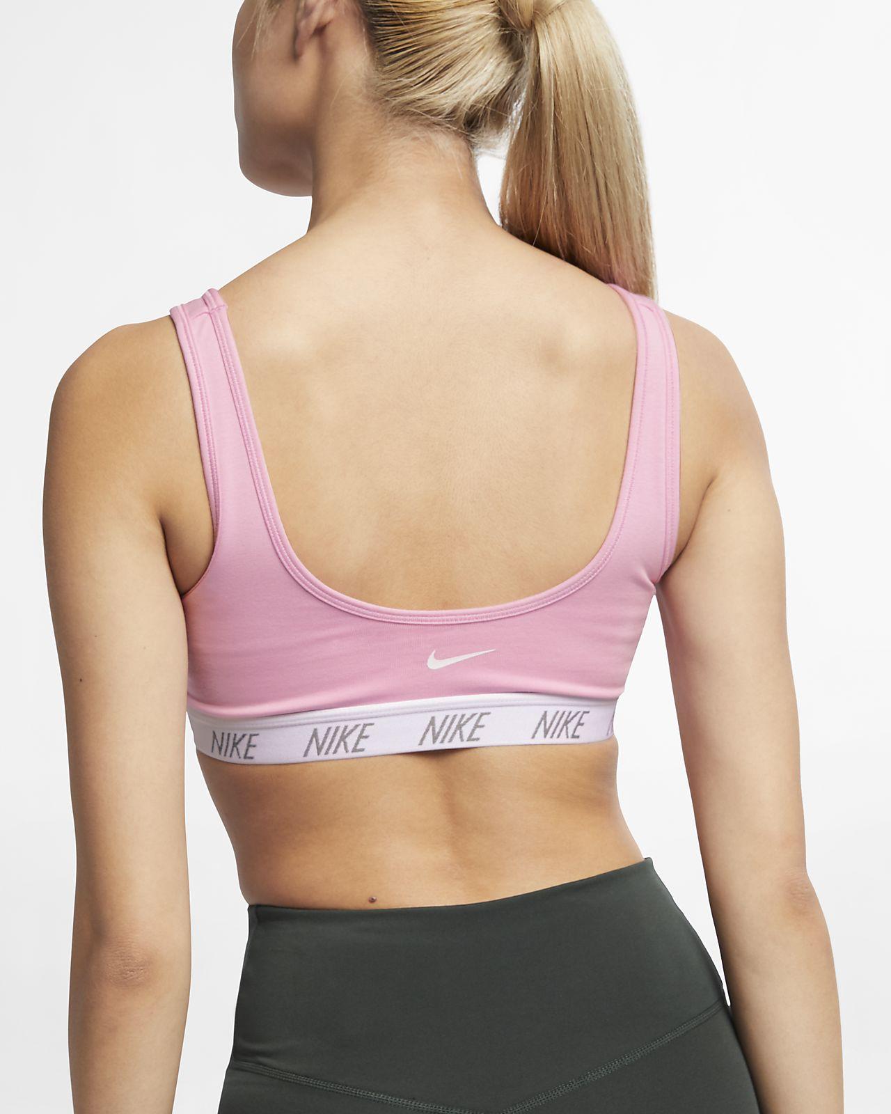 Nike Classic Soft közepes tartást biztosító női sportmelltartó. Nike ... d14c8db75b