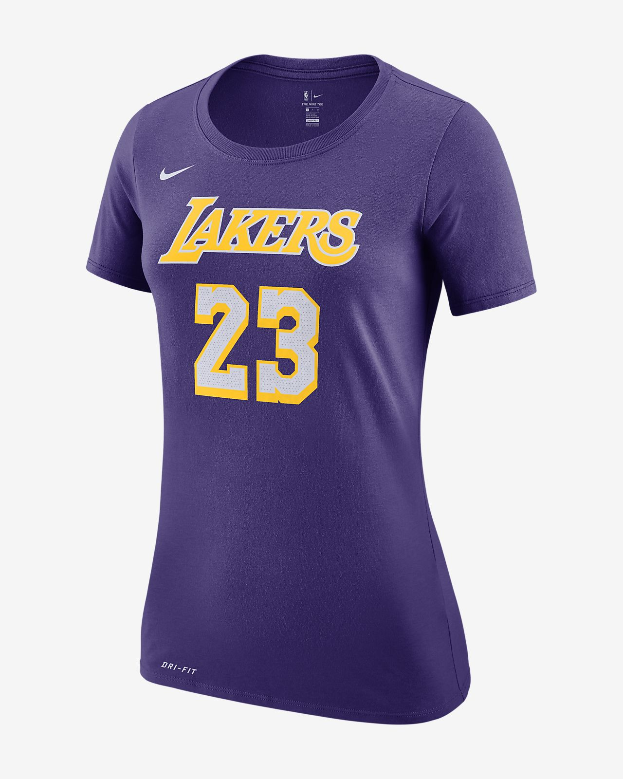 Los Angeles Lakers Nike Dri-FIT Women s NBA T-Shirt. Nike.com MY d456ed267