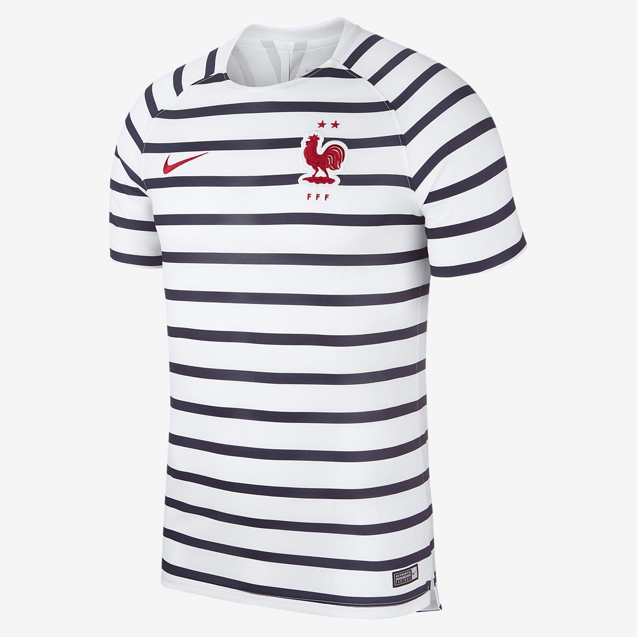 Męska koszulka piłkarska FFF Dri-FIT Squad