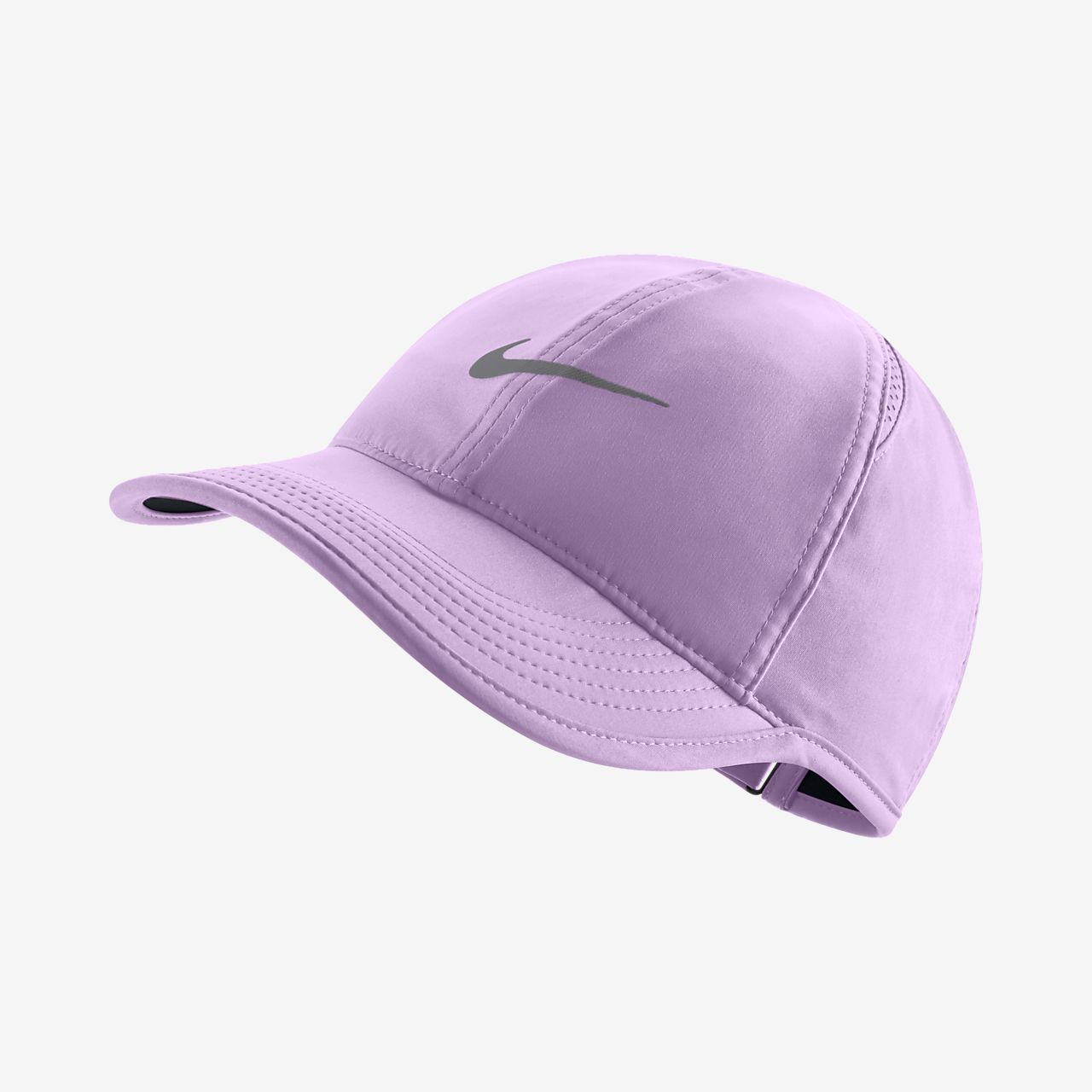 purple nike cap