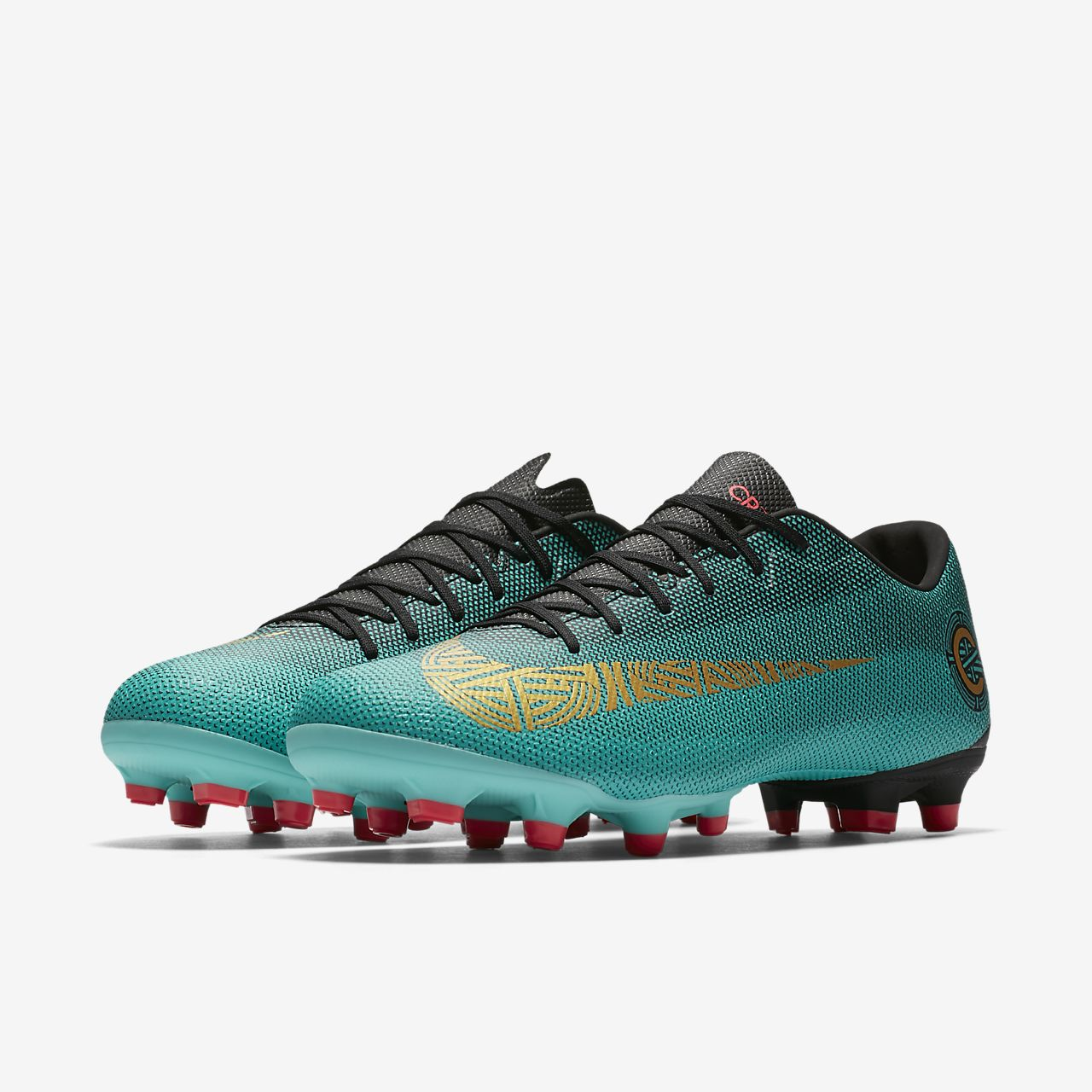 sports shoes 24ee2 242f1 Chaussure de football multi,terrains à crampons Nike Mercurial Vapor XII  Academy CR7 ...