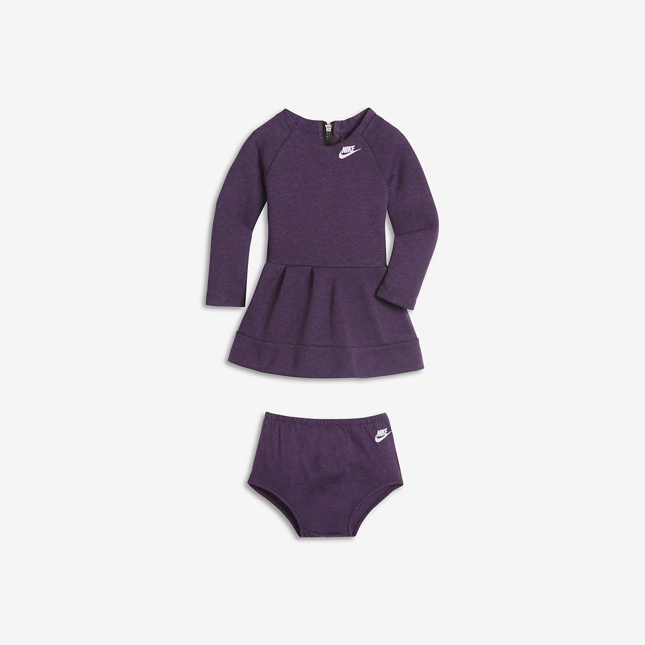 Klänning Nike Tech Fleece för baby/små barn (tjejer)