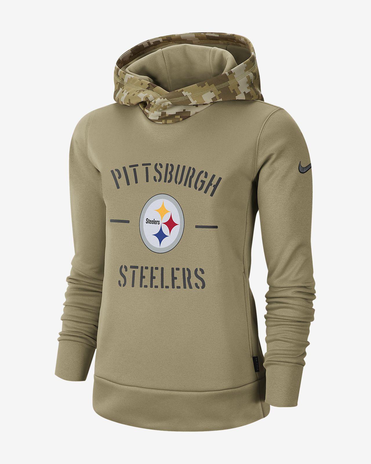 Nike Therma Salute to Service (NFL Steelers) Women's Hoodie