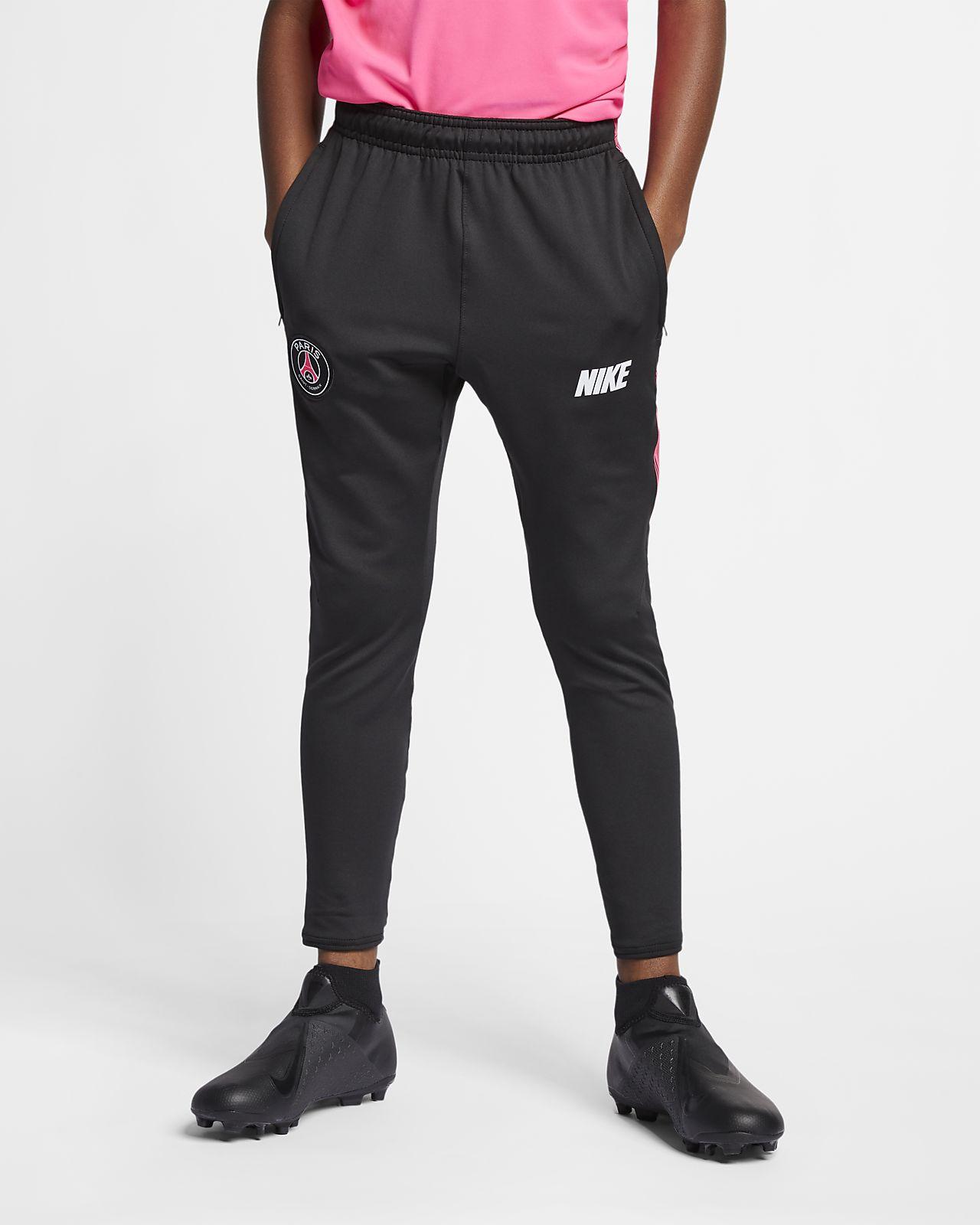 Nike Paris Saint Germain 201819 Squad Pants Junior Zwart
