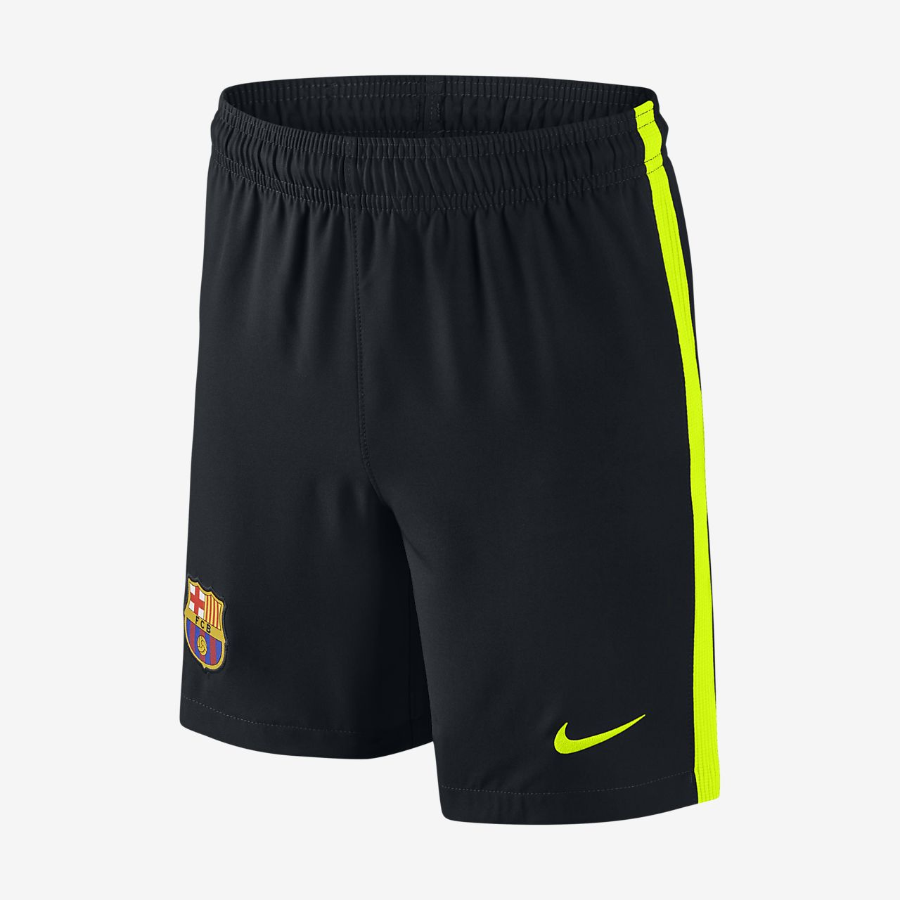 2016/17 FC Barcelona Stadium Home/Away/Third/Goalkeeper Older Kids' Football Shorts