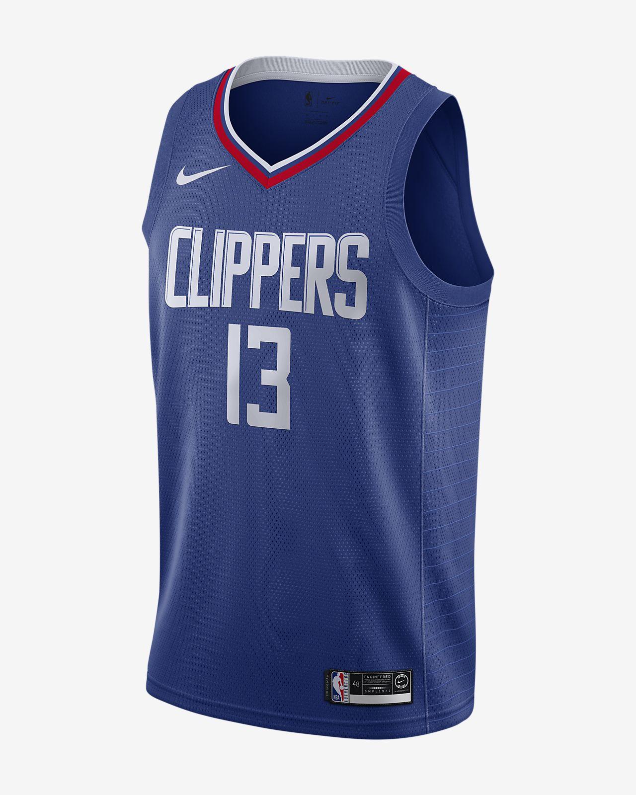 ポール ジョージ クリッパーズ アイコン エディション メンズ ナイキ NBA スウィングマン ジャージー