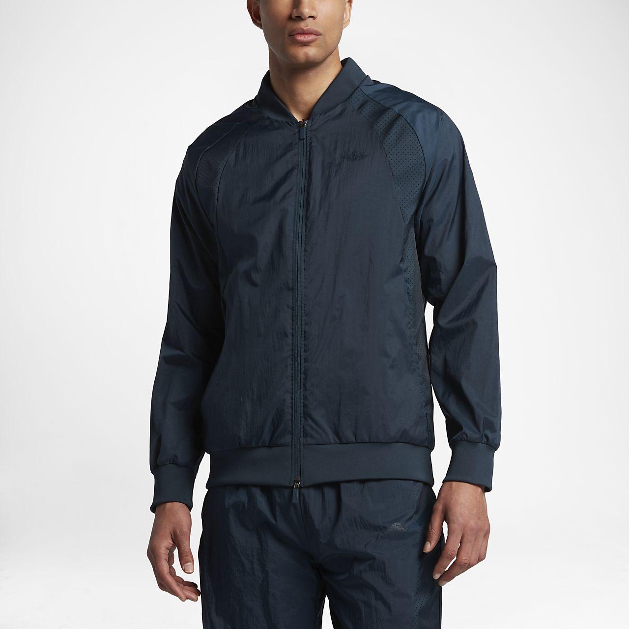 wholesale dealer 9b2a1 1235f ... Air Jordan Wings Woven Men s Jacket