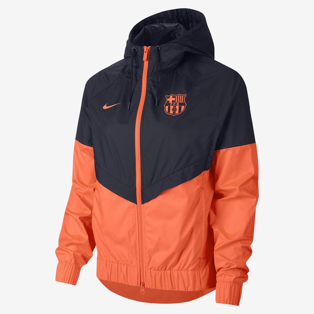 ... FC Barcelona Authentic Windrunner Women's Jacket