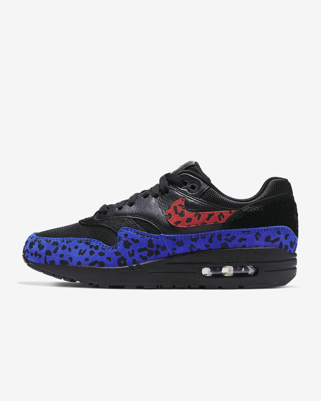Excellent Nike Running Shorts Leopard Men's Air Max 87 Black