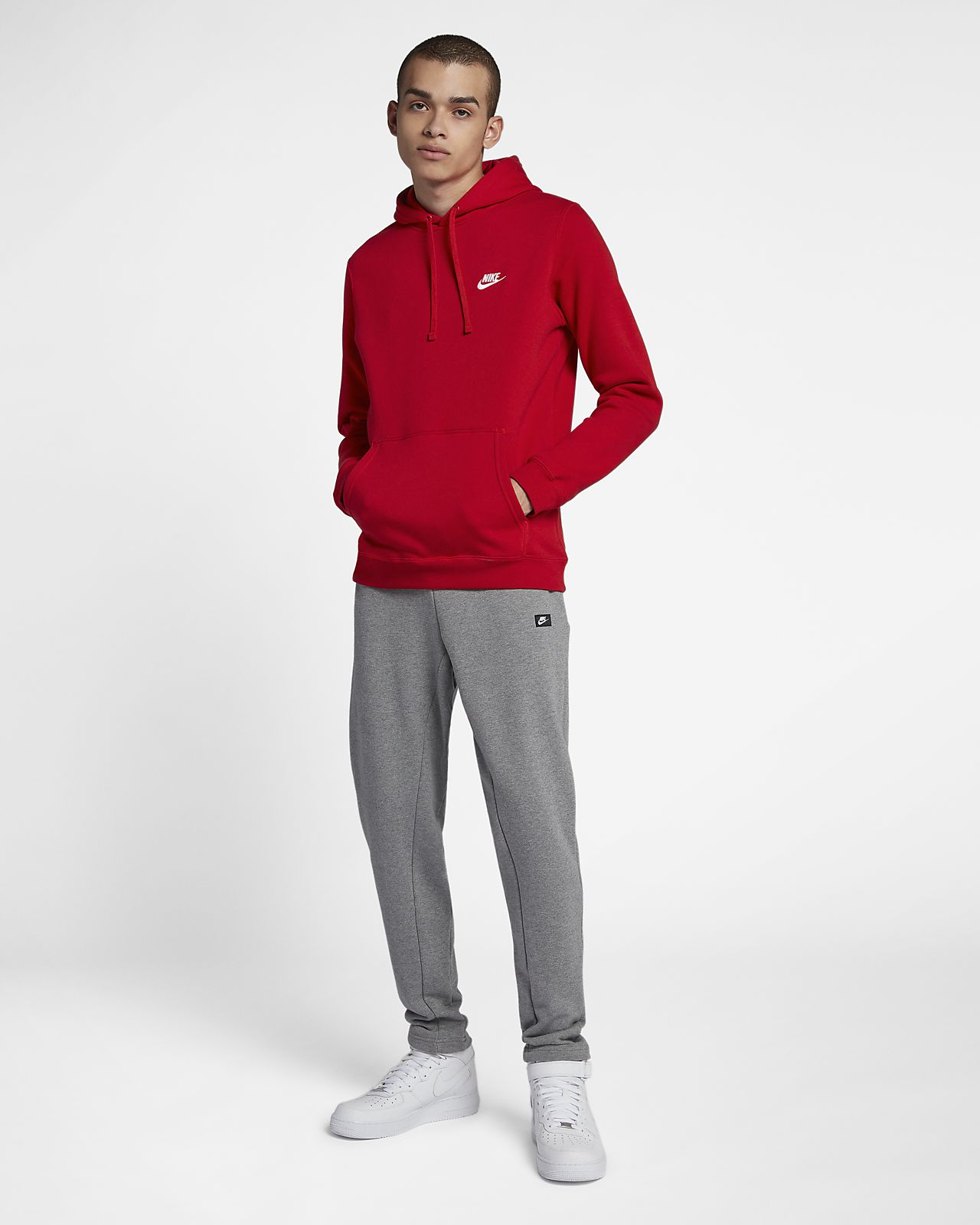 b4bfab82deec Nike Sportswear Club Fleece Pullover Hoodie. Nike.com