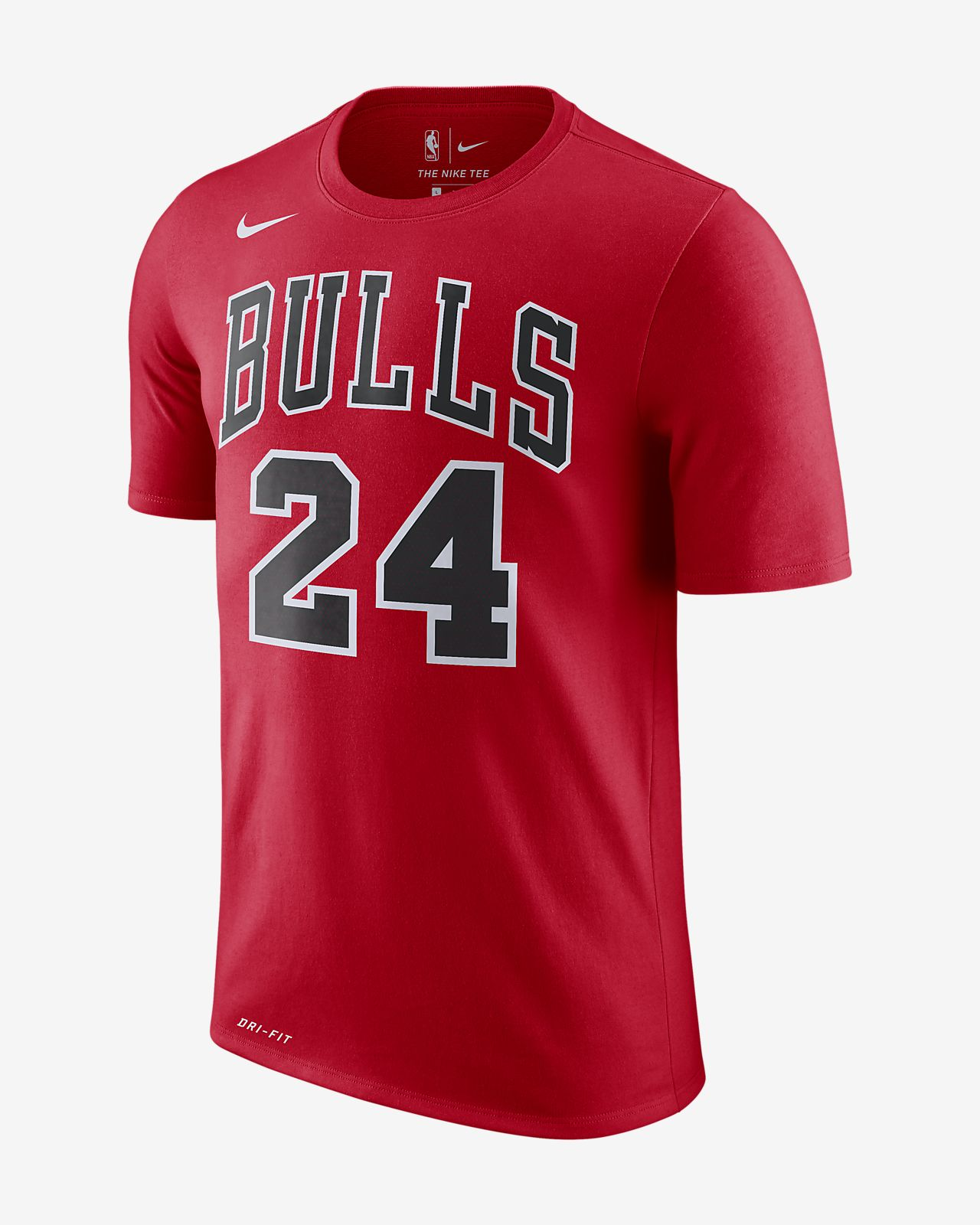 Tee-shirt NBA Lauri Markkanen Chicago Bulls Nike Dri-FIT pour Homme