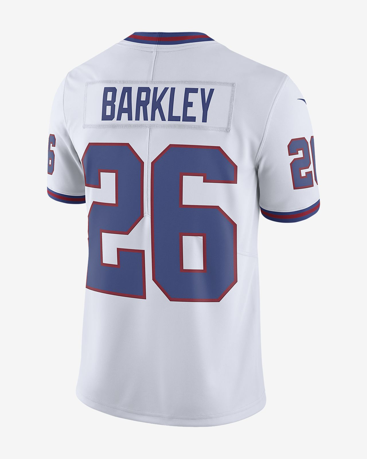 new style 2ccc8 3f8cd NFL New York Giants Limited (Saquon Barkley) Men's Football Jersey
