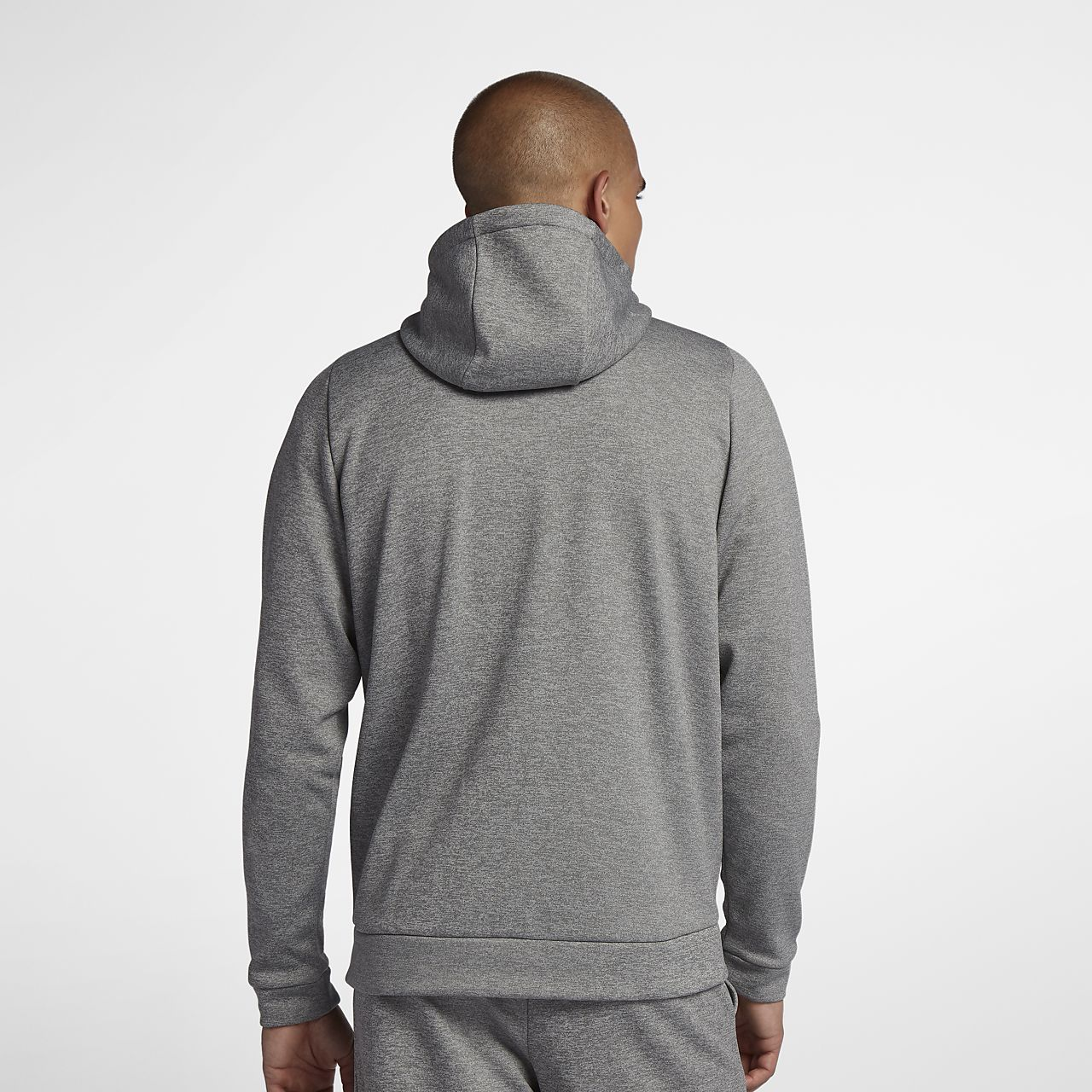 ... Pánská tréninková mikina Nike Dri-FIT Therma s kapucí a dlouhým zipem 62fc6a62176