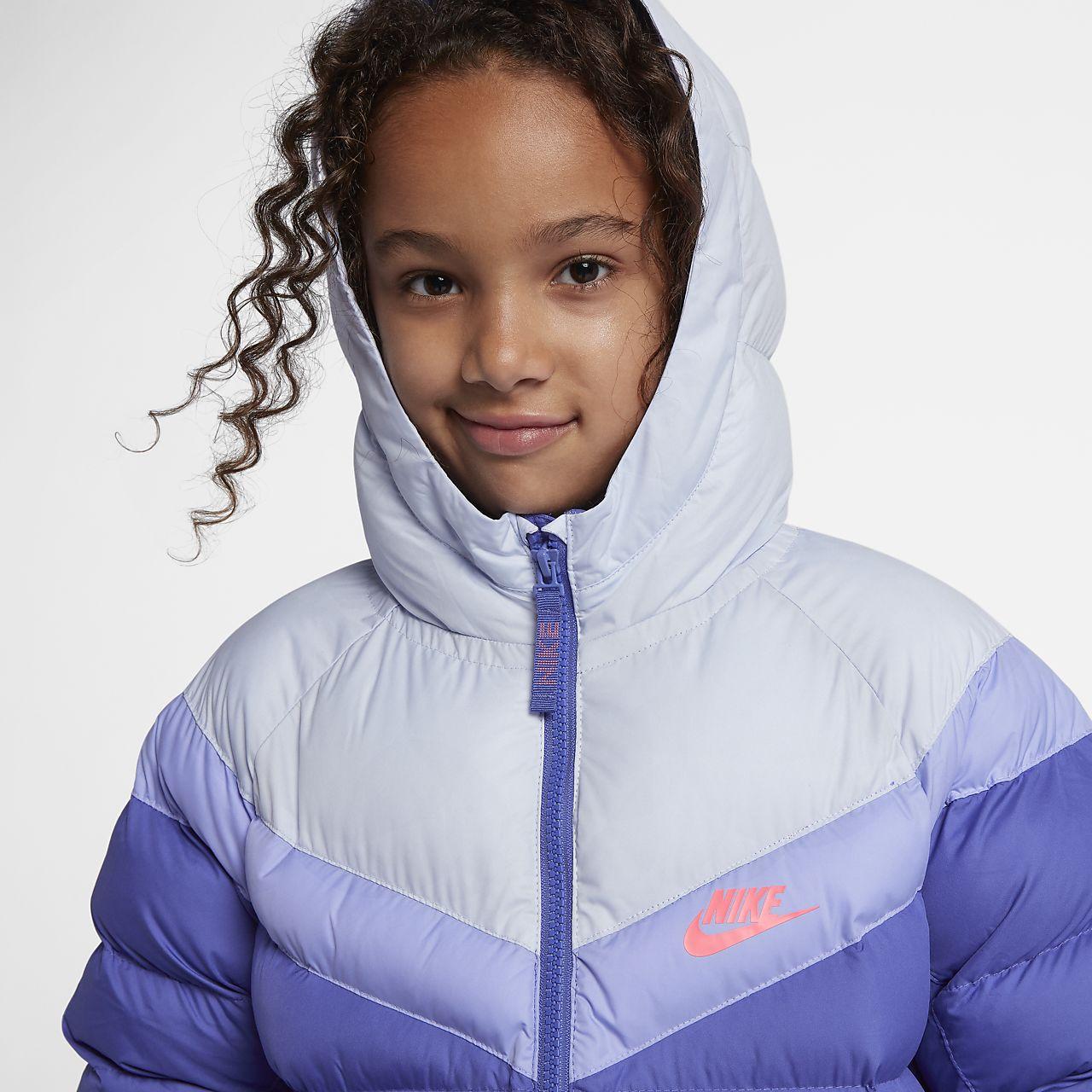 fe4136b58 Nike Sportswear Older Kids' Synthetic-Fill Jacket. Nike.com SE