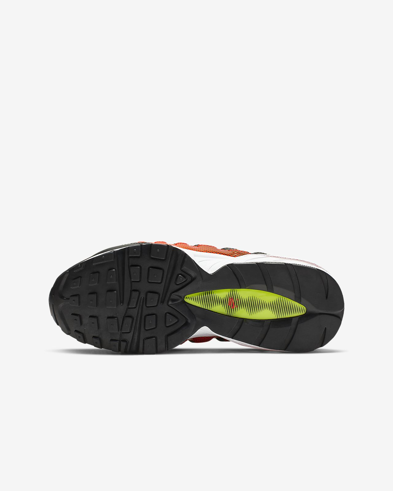 online retailer 8489e dabbb ... Nike Air Max 95 Big Kids  Shoe