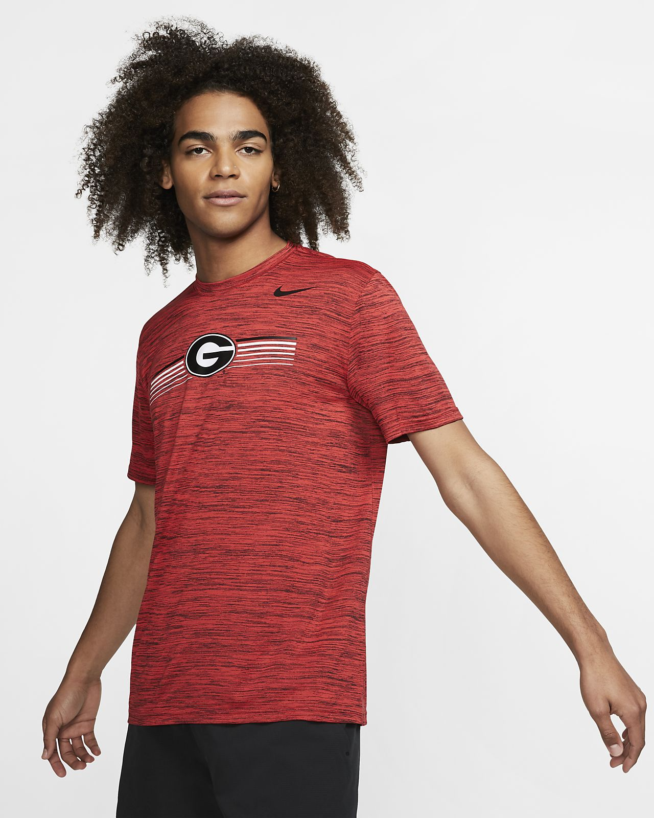 Nike College Dri-FIT Legend Velocity (Georgia) Men's T-Shirt