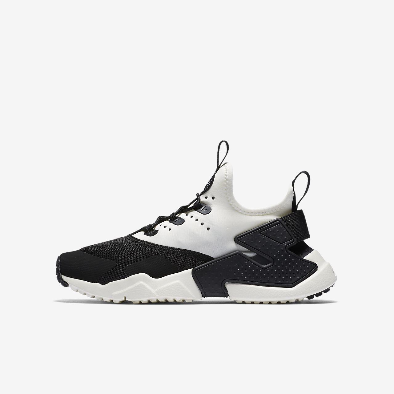 low cost f602e 14de3 Chaussure Nike Huarache Run Drift pour Enfant plus âgé ...